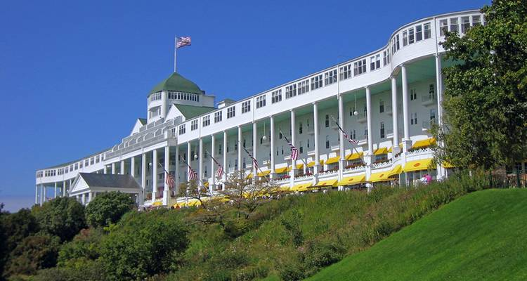 Discover Mackinac Island featuring The Grand Hotel - Collette