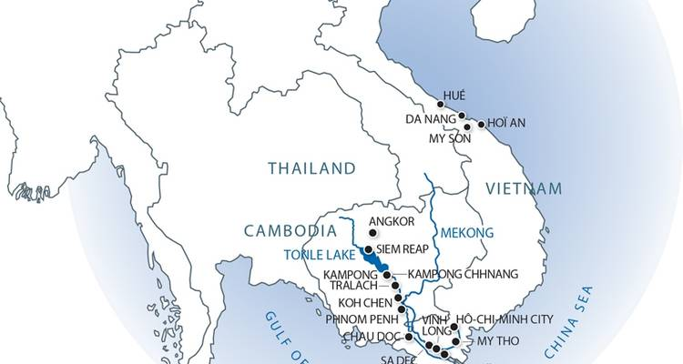 From the Mekong Delta to Angkor temples - CroisiEurope River Cruises