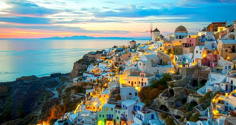Athens to Paros & Santorini - 8 Days - On The Go Tours