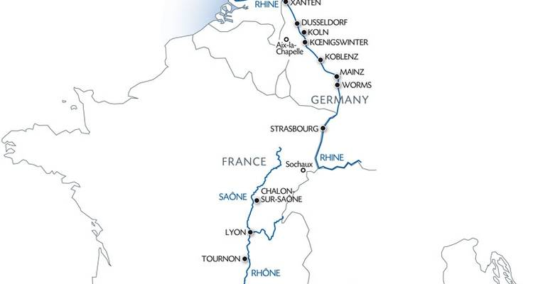 Travel from the North Sea to the Mediterranean and Discover Two Mighty Rivers - CroisiEurope River Cruises