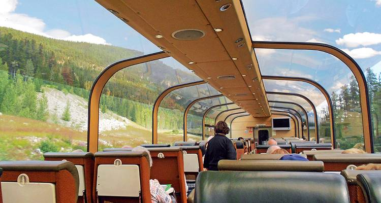 Canadian Rockies by Train - Collette