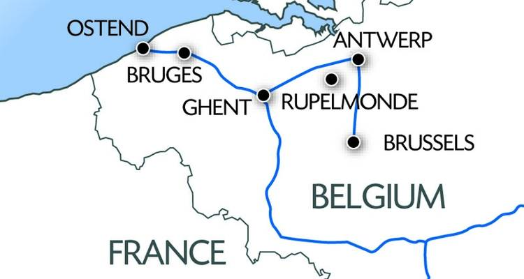 Discovering Flanders: From the North Sea to Brussels - CroisiEurope River Cruises