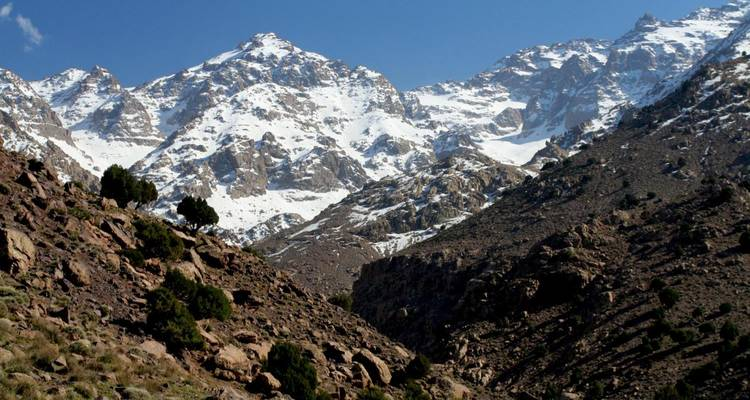 High Atlas and Mount Toubkal - The Natural Adventure Company