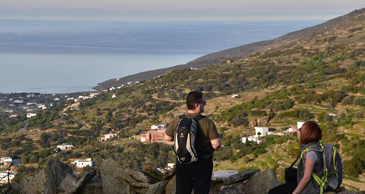 Andros Tinos Walking Holidays Cyclades Greece By One Foot
