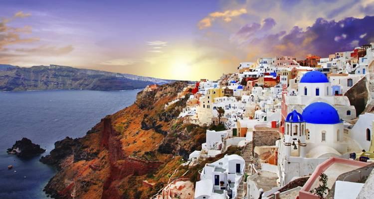 Athens And Santorini Noisless Breeze By Oxygen Tours
