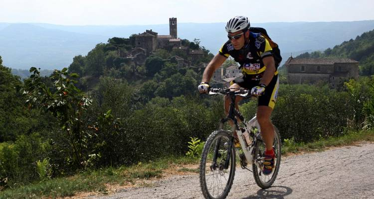 Cycling through unexplored Istria-guided - Fiore Tours