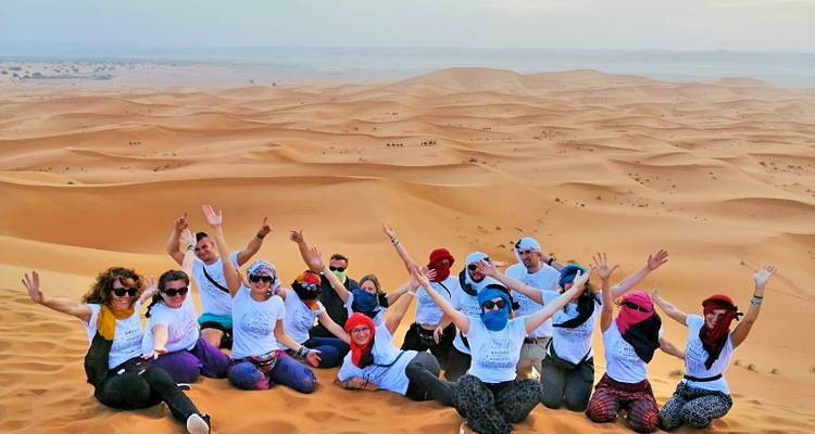 The Sahara Desert - 3 Days, 2 Nights - Merzouga  (from Marrakesh to Marrakech or Fes) - Rouge Travel