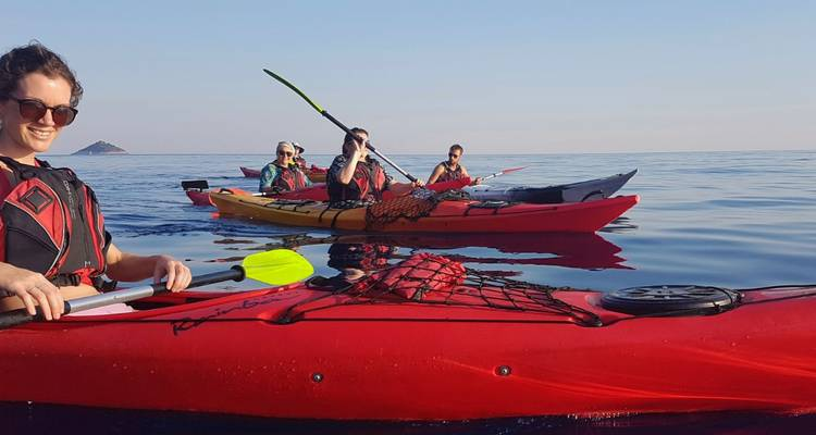 Kayaking week Dubrovnik islands - Discrover