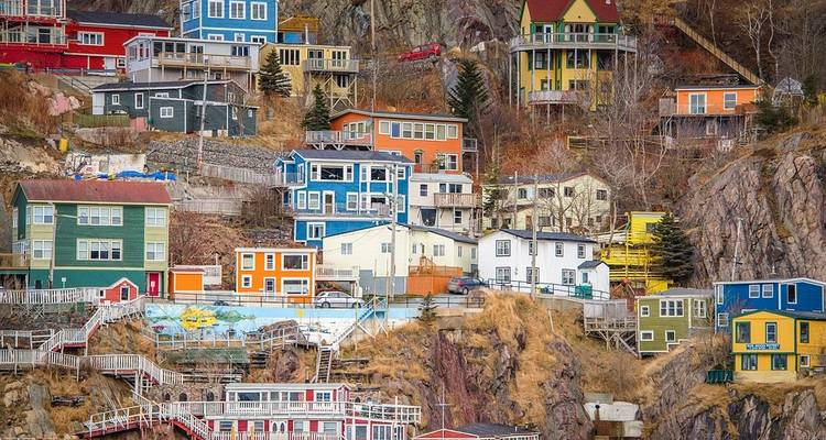 Newfoundland & Labrador (from Corner Brook to St. Johns) - Globus