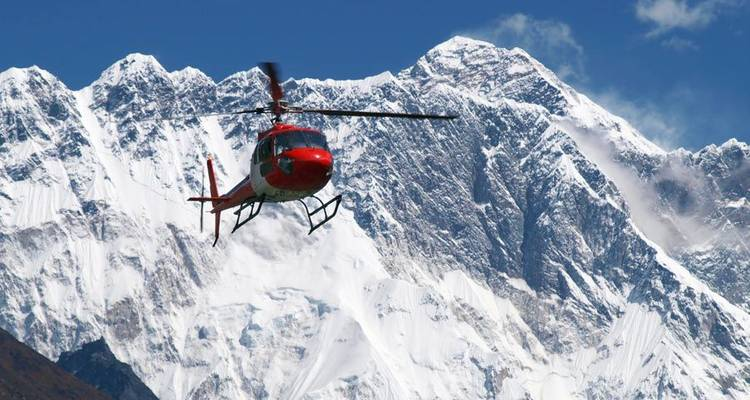 Everest Base Camp Helicopter Tour  - Adventure Himalayan Travels