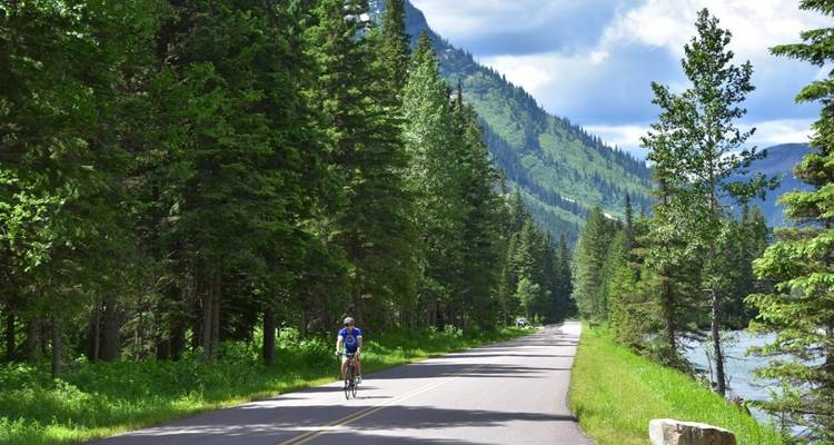 Glacier National Park & Waterton Lakes - 7 Days - Sojourn Bicycling & Active Adventures