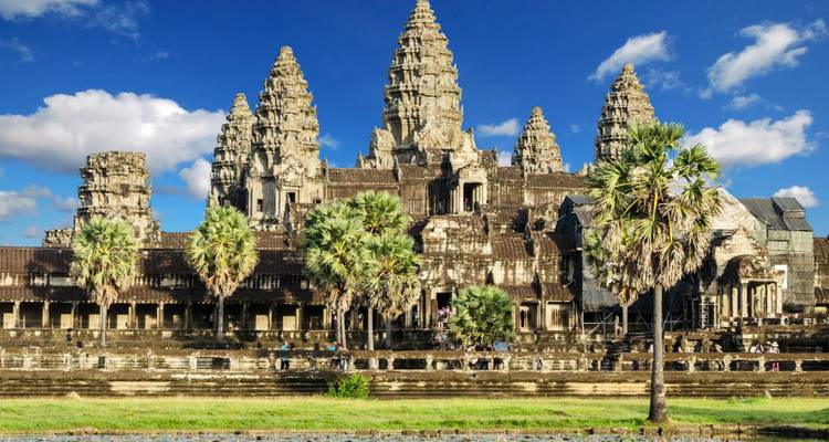 Cambodia Tour from Siem Reap to Phnom Penh and Koh Rong Island for Beach Relaxation  - VietLong Travel