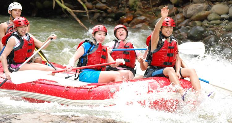 Costa Rica: The Pure Adrenaline Tour - 8 Days - GECtravel