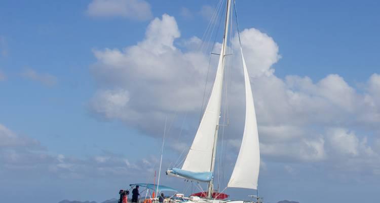 Cabin Charter Sailing Holiday in the Virgin Islands - BlueFoot Travel