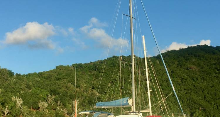 Cabin Charter Sailing Adventure in the BVI - BlueFoot Travel