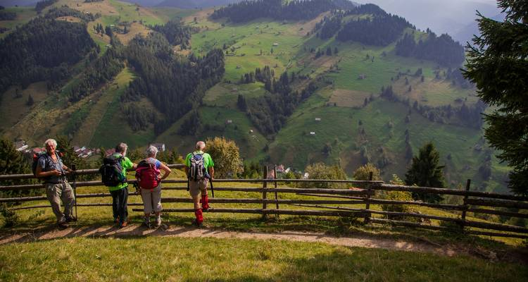 Walk in the Carpathian Mountains Self Guided - Romania Active