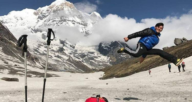 Annapurna Base Camp Trek - White Hill Adventure Treks and Expedition Pvt Ltd