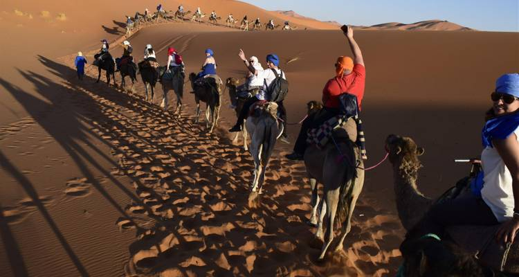 Sahara Desert Tour 3 Days 2 Nights from Fez to Marrakech - Morocco Sahara Desert Travel