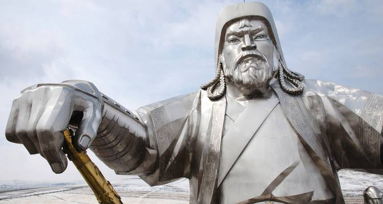 The Genghis Khan (Moscow to Beijing) - Vodkatrain