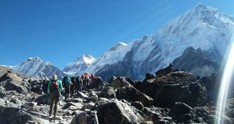 Everest Base Camp Trek by Overland - White Hill Adventure Treks and Expedition Pvt Ltd