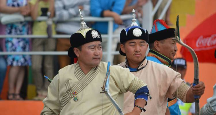Naadam festival tour - Nomadic of Blue Sky