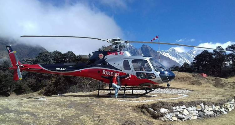 Everest Base Camp  Helicopter Trek - White Hill Adventure Treks and Expedition Pvt Ltd