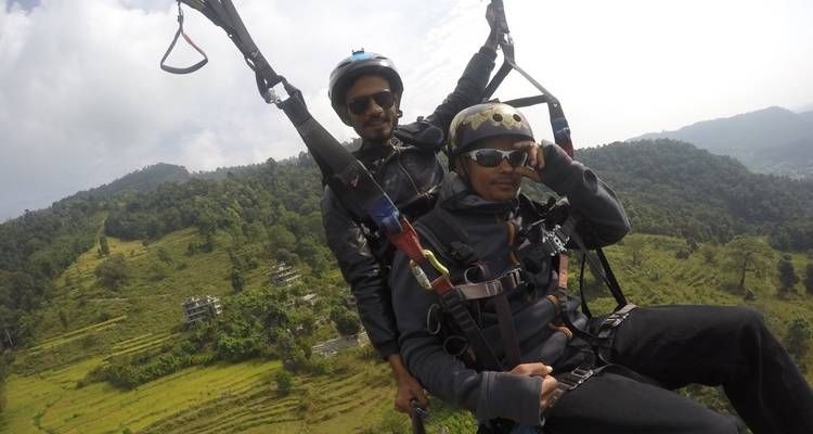 Paragliding in Nepal - Nepal Holiday Treks And Tours