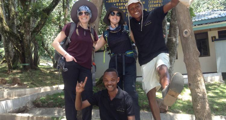 Machame Route 6 Days 5 Nights - African Sunrise Travel