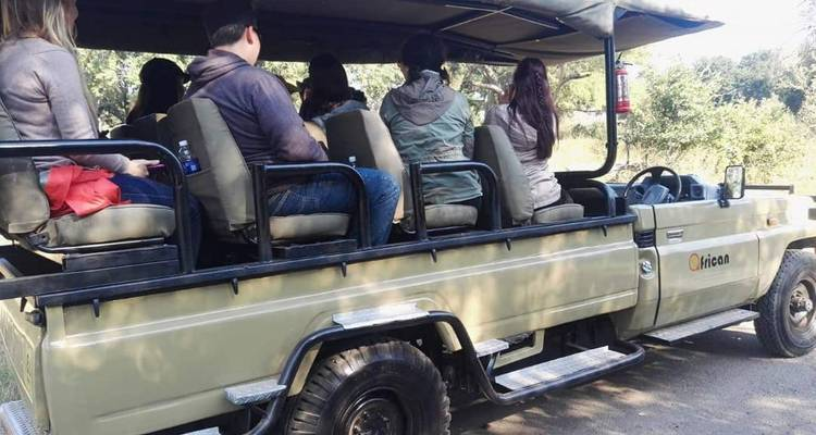 Game drive, Rhino tracking,Village tour, Reptile park,Victoria falls/ Botswana day safari. - African joined tours and safaris