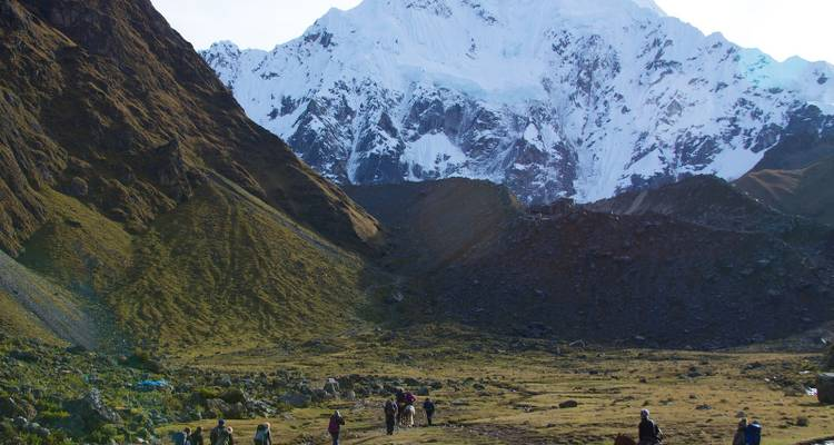 Salkantay Trek 5D/4N -  All Included / Budget Return by Bus - Milhouse Hostel Tours