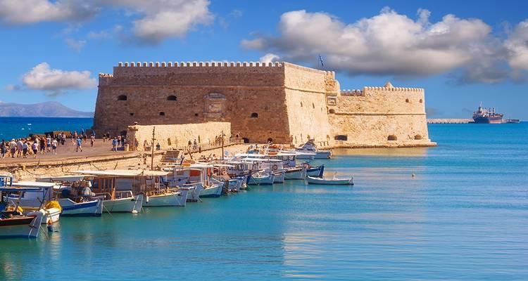 Athens Santorini Crete Tour 6 Days Standard By Travel