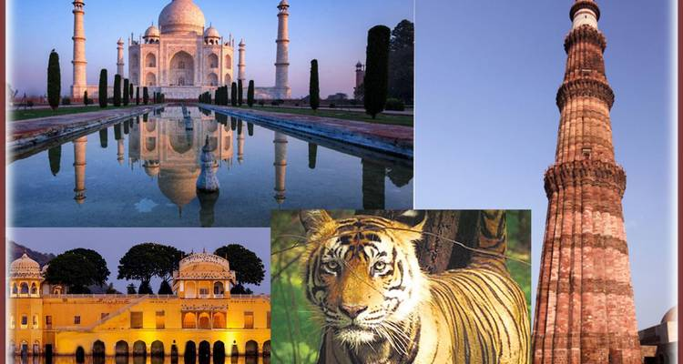 Golden Triangle Tour with Ranthambore Safari Tour - Chauffeurs In India