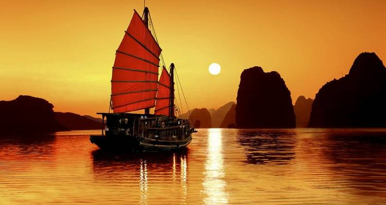 3-Day Ha Long Bay on 5-star Cruise with Kayaking, Amazing Cave & Titop Island,... - Crossing Vietnam Tour