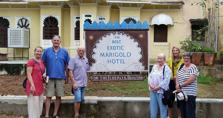 Best Exotic Marigold Hotel Tour - Incredible India Tours