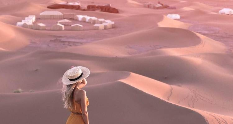Merzouga Dunes Luxury camp From Marrakech - Desertbrise Travel