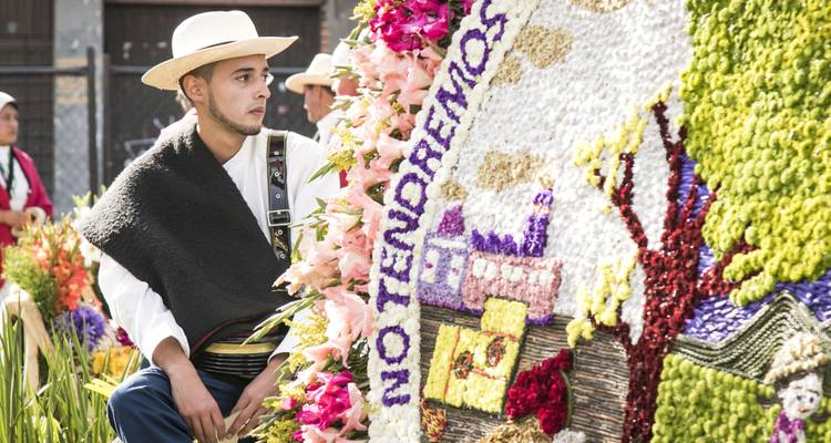 "LGBT Group Tour to Medellin - > Feria de las Flores ""Flower Festival"" - The Colombian Trip"