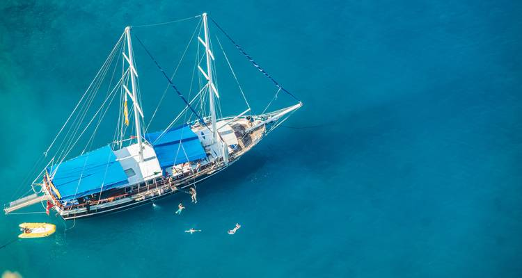 All Inclusive Rhodes Gulet Cabin Charter - MedSail Holidays