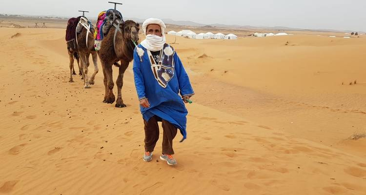Overnight Trip in Merzouga Desert: Start in Marrakech & end in Fes - TouaregTrails