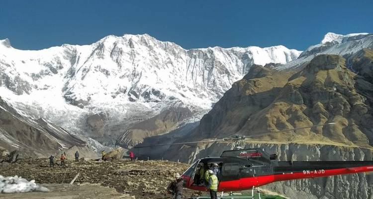 Annapurna Base Camp Helicopter Tour  - Sherpa Expedition & Trekking Pvt. Ltd.