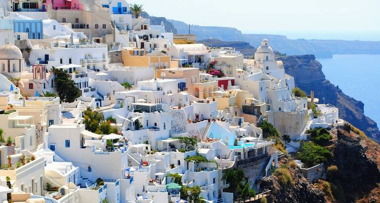 9 Day Greek Islands Holiday Package Athens Mykonos With Delos Cruise Tour In Santorini Cruise To Volcano