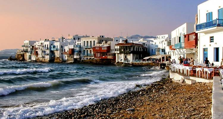 4 Day Greek Islands Hopping Tour Delos Mykonos Santorini