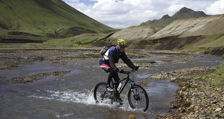 On Bike from Laki to Landmannalaugar - Icelandic Mountain Guides