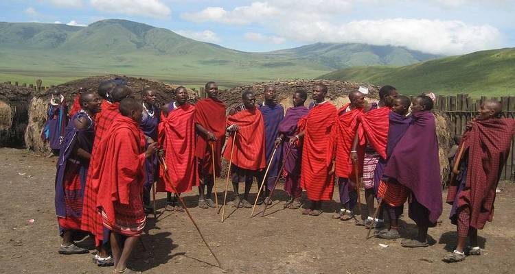 Colors and Cultures of Tanzania Safari - Real Life Adventure Travel
