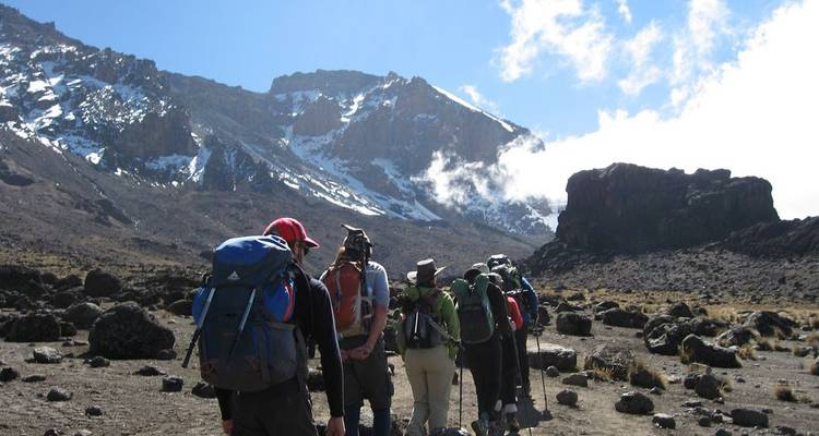 Mt. Kilimanjaro:  Kibo Circuit - West Start Route - Real Life Adventure Travel