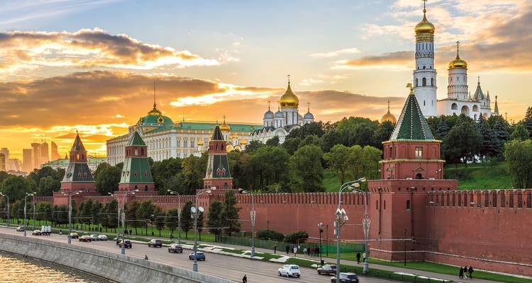 Jewels of Russia (from Moscow to St Petersburg) - Scenic Luxury Cruises & Tours
