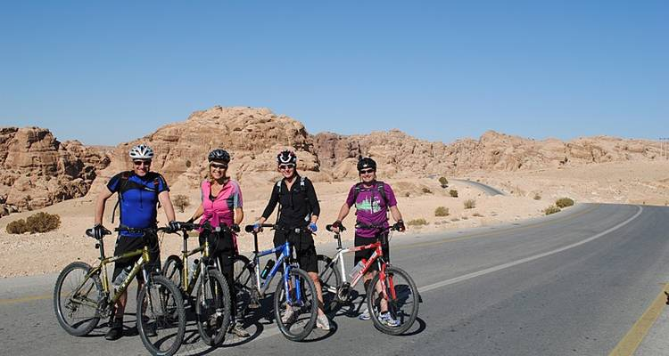 Petra & Wadi Rum by Bike - Exodus Travels