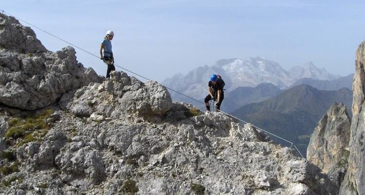 Introduction to Via Ferrata - Exodus Travels