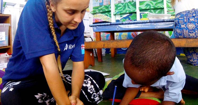 Childcare in Dawasamu, Fiji (14n+) - Experiential Education Limited t/a GVI
