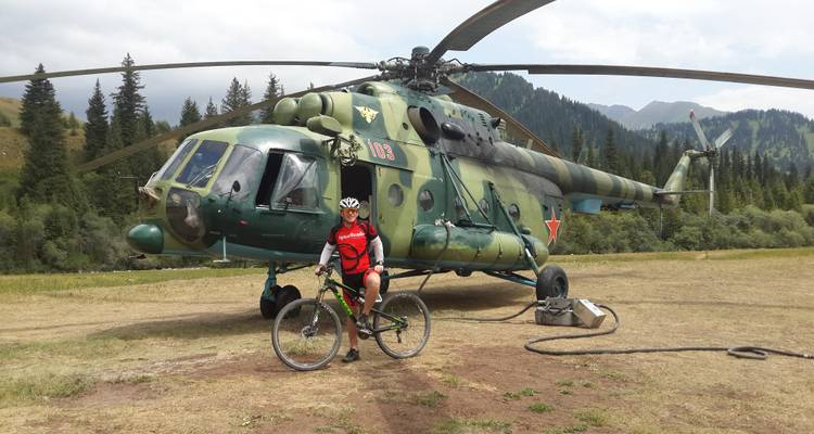 Mountain Biking Kazakhstan and Kyrgyzstan - SpiceRoads Cycling