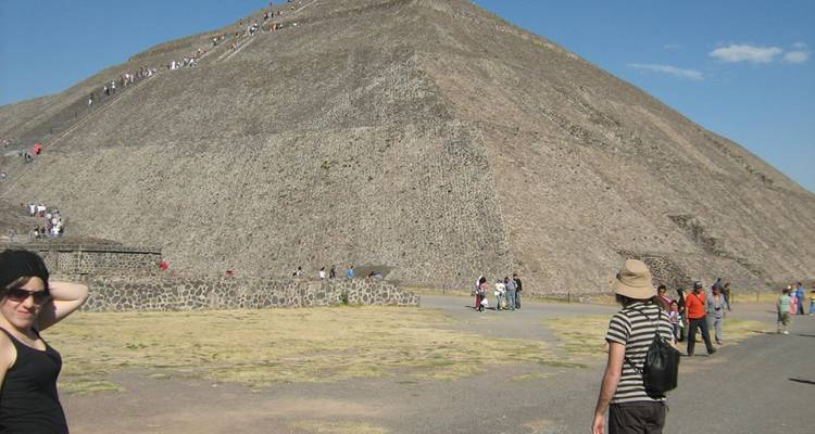 Teotihuacan Pyramids & Temples from Mexico city - Marvelus Travel